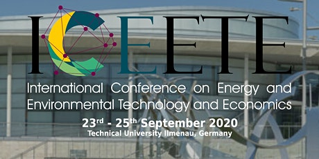 Conference on Energy and Environmental Technology and Economics Tickets