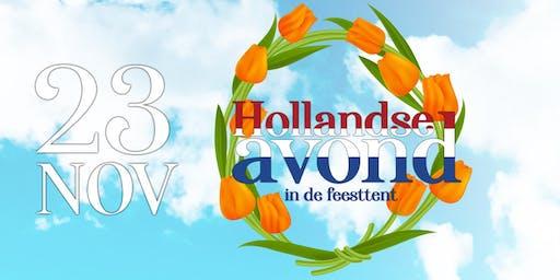 Hollandse Avond in de feesttent met o.a. Roy Donders & Gebroeders Ko! 18+