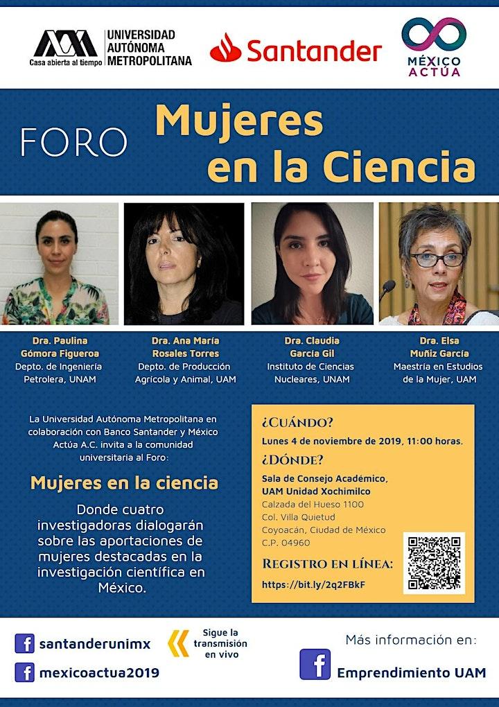 """Imagen de Tour de Universidades: """"Mujeres en la Ciencia"""""""