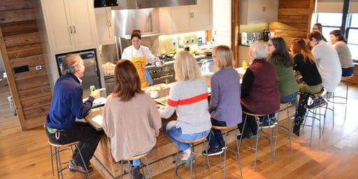Rushton Farm Feast: Year-End Lunch with Donna Laveran