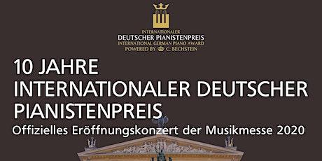 10. Int'l Deutscher Pianistenpreis verschoben auf 13.12 - 15.12.2020 Tickets