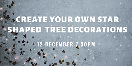Create your own tree decorations tickets
