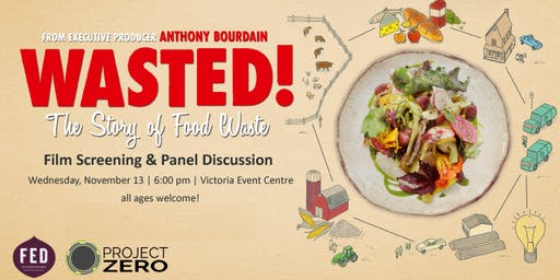 Wasted! The Story of Food Waste: Film Screening & Panel Discussion