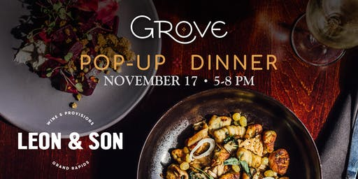 Pop-Up Dinner with Leon & Son Wine