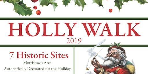 Holly Walk 2019 Dec. 6,7, 8