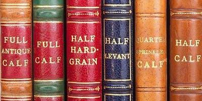 Visit to Shepherd's Bindery & Talk on Antiquarian Books by Anthony Davis