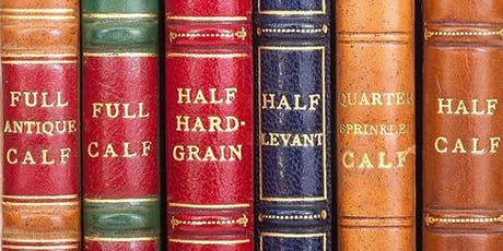 Visit to Shepherd's Bindery & Talk on Antiquarian Books by Anthony Davis MEMBERS ONLY tickets