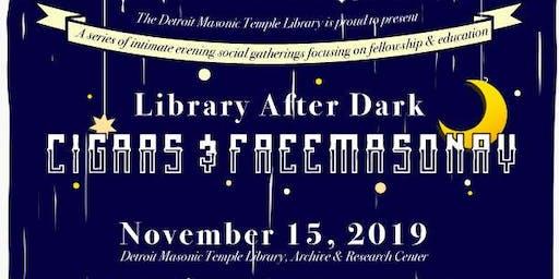 Library After Dark: Cigar Social
