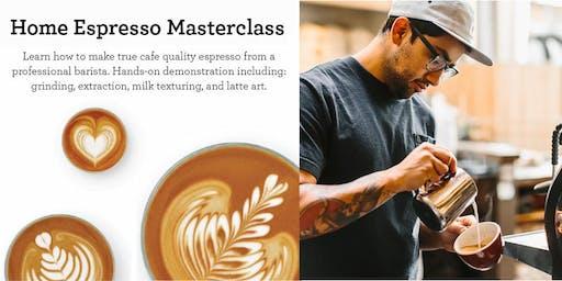 Cafè Quality Masterclass Presented by Breville - Costa Mesa, CA