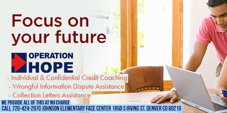 Operation HOPE Financial Education Workshop at FACE Center  tickets