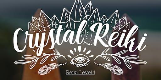 Crystal Reiki 1 - Cachoeirinha/RS