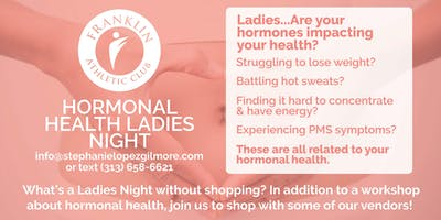 Hormonal Health Ladies Night