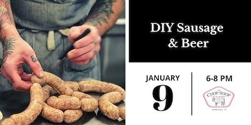 DIY Sausage & Beer