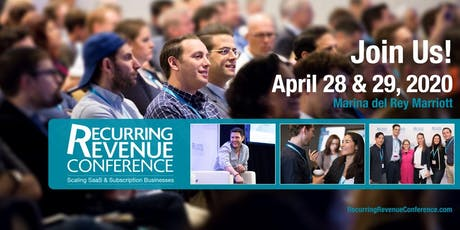 Recurring Revenue Conference 2020 tickets