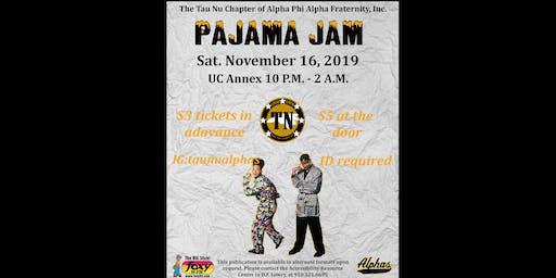 Tau Nu Alphas Pajama Jam