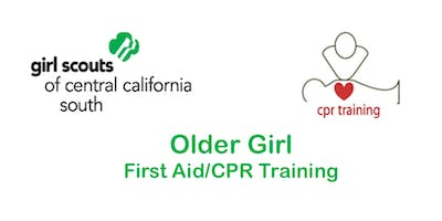 Older Girls First Aid/CPR (Blended) - Fresno