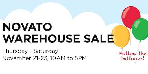 Novato Warehouse Fall Sale