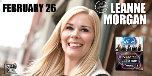 Comedian Leanne Morgan Live In Naples, FL Off the hook comedy club