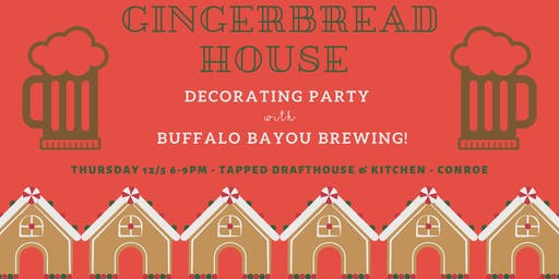 Gingerbread House Making Party!