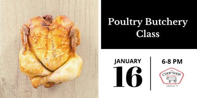 Poultry Butchery Class