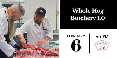 Whole Hog Butchery 1.0