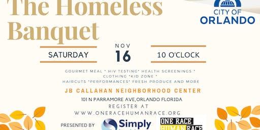 4th Annual Homeless Thanksgiving Banquet (Volunteer Registration)