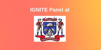 IGNITE Panel at Nathan Hale High School - SOLD OUT
