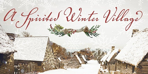 A Spirited Winter Village