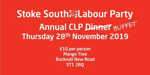 Stoke-on-Trent South Labour Party Annual Dinner