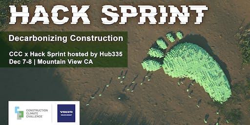 CCC x Hack Sprint // Decarbonizing Construction