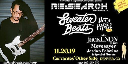RE:Search feat. Sweater Beats w/ jackLNDN, Movesayer, Jordan Polovina