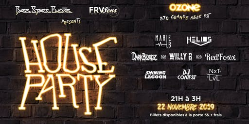 Bass Space Events & Frvsens presents House Party