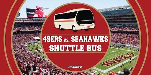 Niners vs. Seahawks Party Bus to Levi's Stadium