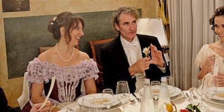 Cena ottocentesca al Caffè Pedrocchi biglietti