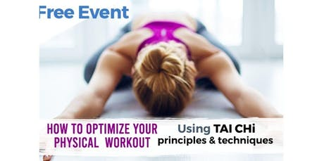 How to optimize your physical workout (2019-11-21 starts at 7:00 PM) tickets