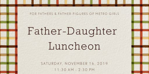 Father-Daughter Luncheon
