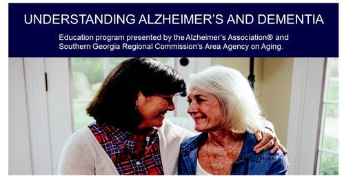 Understanding Alzheimer's and Dementia - For Caregivers Tifton Event