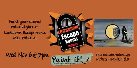 Paint your Escape tickets