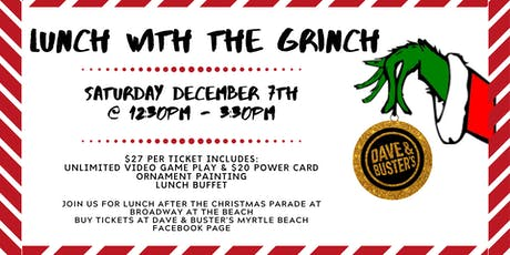 D&B Myrtle Beach Lunch with the Grinch 2019 tickets