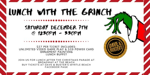 D&B Myrtle Beach Lunch with the Grinch 2019