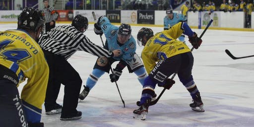 Sheffield Steeldogs vs Bracknell Bees - Sun 8-Dec-2019 @ 4:30pm