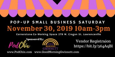 Pop-Up Small Business Saturday
