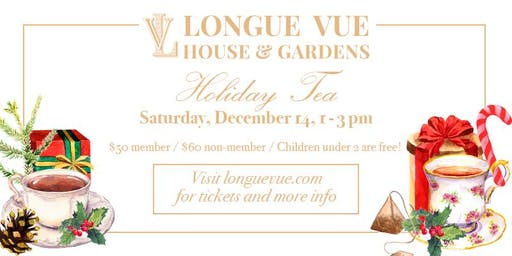 Holiday Tea at Longue Vue