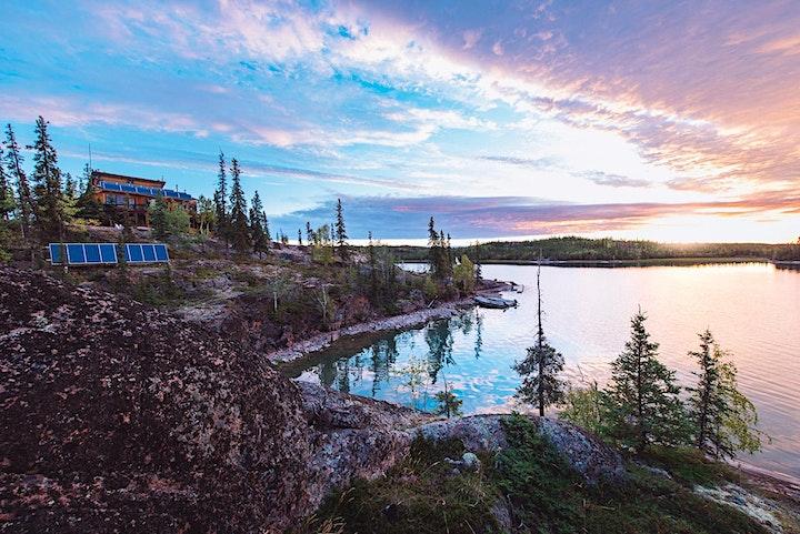 2021 Aurora Borealis Photography Workshop at Blachford Lake Lodge image