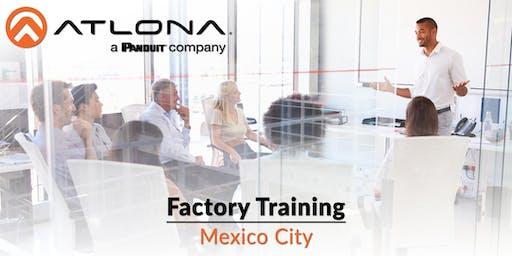 Atlona's Factory Training - Mexico City