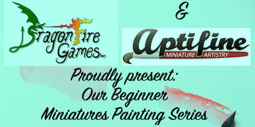 Beginner Plastic Miniatures Painting Class