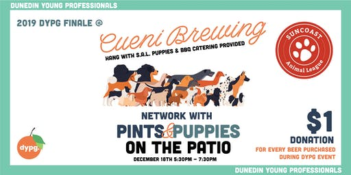 NETWORK WITH  PINTS & PUPPIES ON THE PATIO
