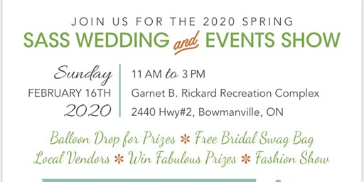 Sass Spring Wedding and Events  Show