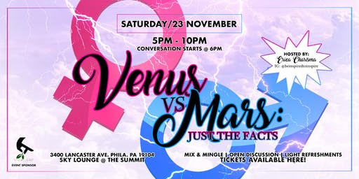 Venus vs. Mars: Just The Facts