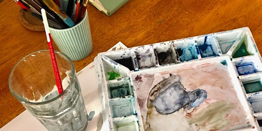 WATERCOLORS WITH A. JARRELL ART